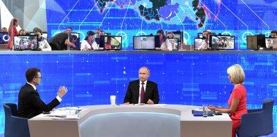 Прямая линия с Владимиром Путиным: 21 главный вопрос