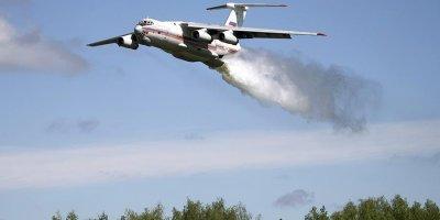 Спровоцированный военными лесной пожар под Рязанью за сутки разросся до 250 га