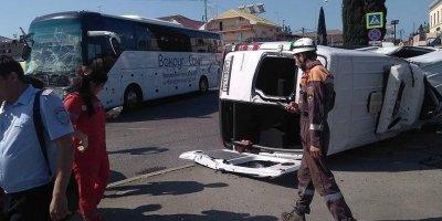 В ДТП с автобусами на Кубани пострадали 26 человек