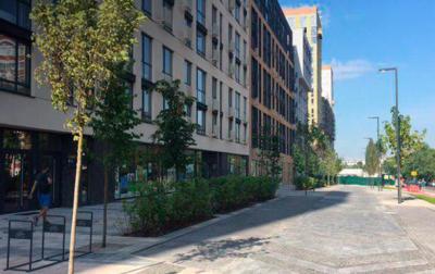 В Киеве открыли первую smart-улицу - «Украина»