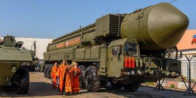 В РПЦ задумались об отказе освящать оружие массового поражения
