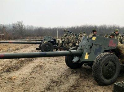 ВСУ разместили на оккупированной территории ЛНР бронетехнику и противотанковые пушки «Рапира» - «Новороссия»