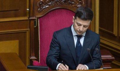 Зеленский сократил численность сотрудников администрации президента Украины - «Новороссия»