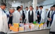 Аскар Мамин посетил крупные предприятия Шымкента - «Экономика»