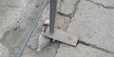 Аварийный мост в Новосибирске починили с помощью пластиковых бутылок