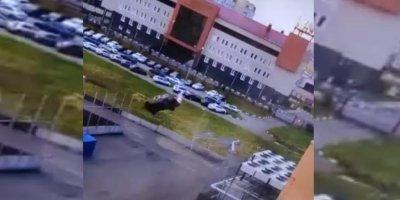 Двойное сальто на автомобиле устроил житель Омска