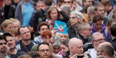 Константин Костин назвал протесты у Мосгоризбиркома попыткой давления на власть