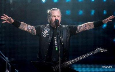 Metallica спела Группу крови Цоя - (видео)