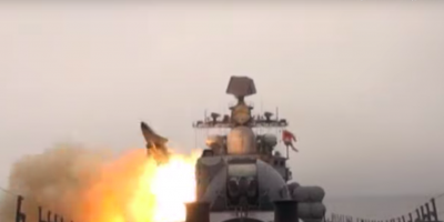 """Минобороны показало пуски сверхзвуковых ракет """"Москит"""""""