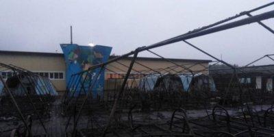 Трое детей впали в кому после пожара в турлагере на Дальнем Востоке