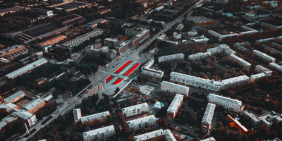 В Екатеринбурге работу художника Покраса Лампаса закатали в асфальт