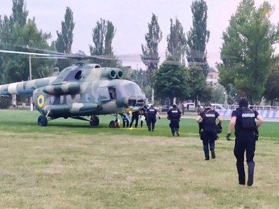 В Красноармейск для подсчета голосов направлен вертолет со спецназом - «Новороссия»