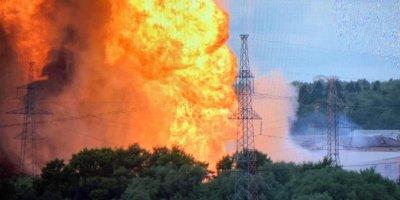 В Подмосковье горит ТЭЦ, есть пострадавшие