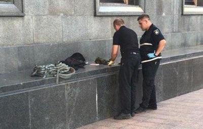 Возле Рады задержали дезертира с гранатой - «Украина»