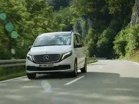 Компания Mercedes-Benz представила серийный электрический минивэн EQV (ВИДЕО) - «Автоновости»