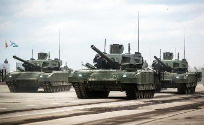 «Армата» забуксовала, Т-90 «уплыл» к американцам - «Военные действия»