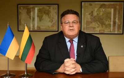 Глава МИД Литвы записал видеообращение на украинском языке - (видео)