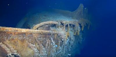 """Исследователи показали """"шокирующие"""" повреждения """"Титаника"""""""