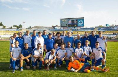 Сборная ЛНР по футболу в товарищеском матче одолела команду Южной Осетии - «Новороссия»