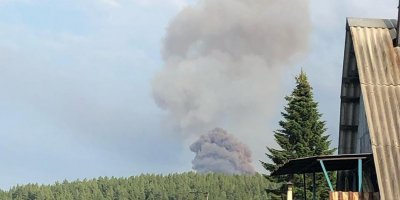 СМИ сообщили о первой жертве взрыва на складе боеприпасов в Красноярском крае