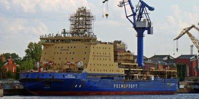 """Строительство ледокола """"Виктор Черномырдин"""" затянулось на 5 лет и подорожало в 1,5 раза"""