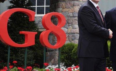 Трамп и Макрон — Путину: «Вернись в G8, мы все простим» - «Политика»