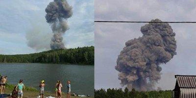 В Ачинске произошла вторая волна взрывов