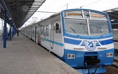 В Киеве произошел сбой в движении городской электрички - «Украина»
