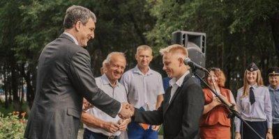 Врио губернатора Амурской области принял участие в праздновании Дня России в селе Тамбовка