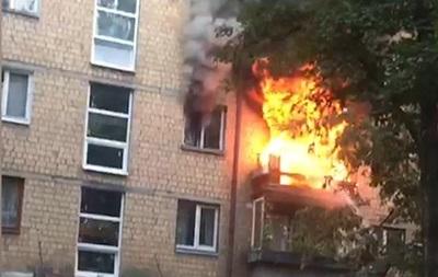 В Киеве произошел пожар в квартире, есть жертвы - «Украина»