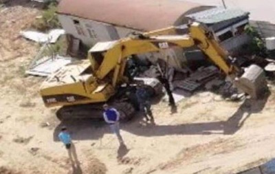 В Киеве взорвали экскаватор - «Украина»