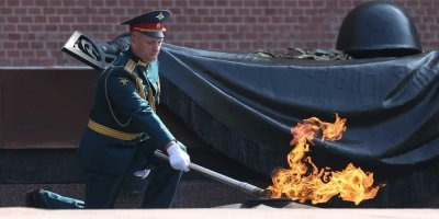 Частица Вечного огня отправилась из Москвы в столицу Словении
