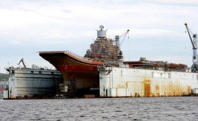 Северный флот ВМФ РФ сел на мель - «Военные действия»