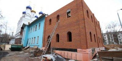 Здание детсада в Москве переделали в храм