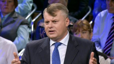 «Пусть приходит в себя!»: Ведущий выгнал бандеровца из студии российского телеканала - «Новороссия»