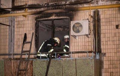 В Киеве ночью горела пятиэтажка, есть жертва - «Украина»