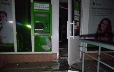 В Киеве взорвали банкомат Приватбанка - «Украина»