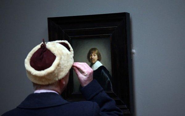 Из галереи в Лондоне пытались украсть картины Рембрандта - (видео)
