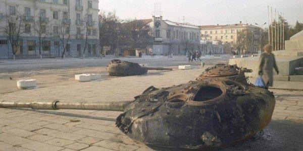 Раскрыты подлинные причины штурма Грозного сломанными танками в 1994-м
