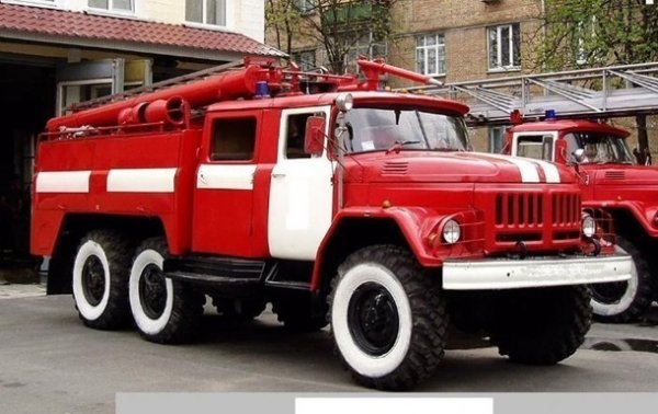 В Киеве горел хостел - «Украина»