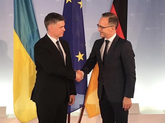 Сегодня в Киев прибудет глава МИД Германии - «Новороссия»