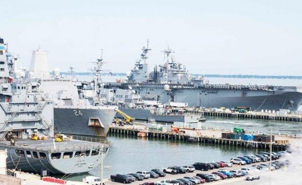 Американский флот неожиданно поразила «русская болезнь» - «Военные действия»