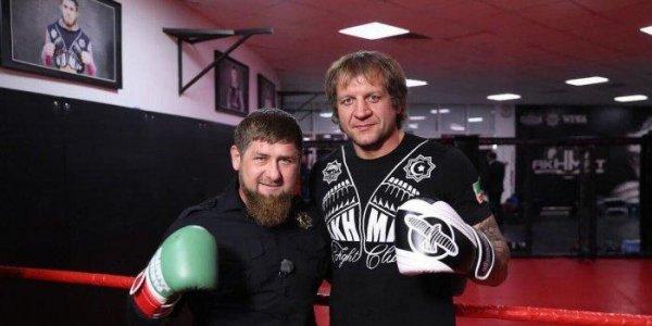 Боец MMA Шлеменко оценил шансы Кадырова против Емельяненко
