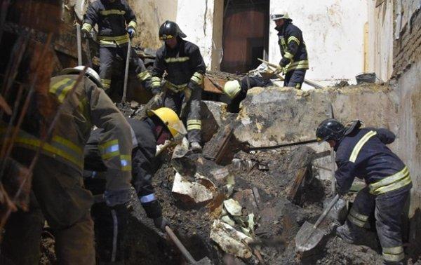 Спасатели остановили работы в Одесском колледже из-за угрозы обрушения - «Новороссия»