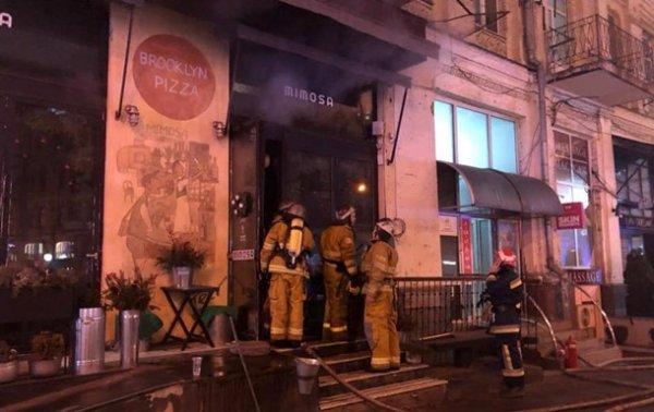 В ресторане в центре Киева случился пожар - «Украина»