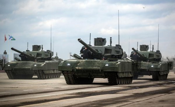 «Армата» готова лишь для парадного прохода по Красной площади - «Военные действия»