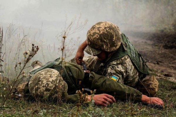 Командование ВСУ сообщило о подрыве двоих боевиков в Донбассе - «Новороссия»