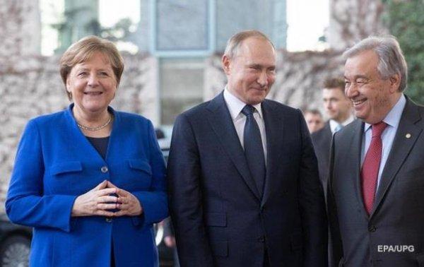 Меркель поговорила с Путиным на русском языке - (видео)