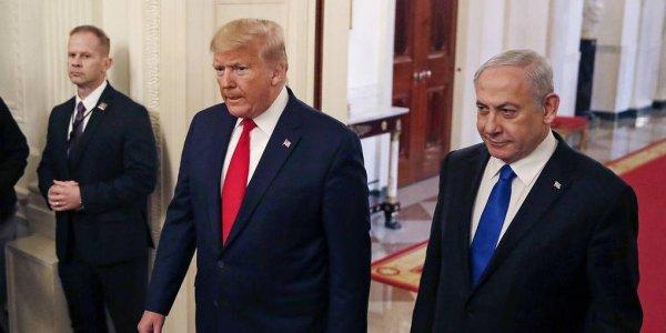"""Трамп огласил условия """"сделки века"""" по конфликту Израиля и Палестины"""